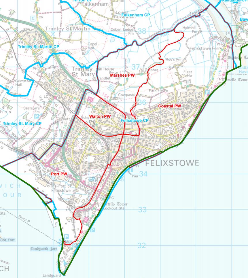 Felixstowe wards