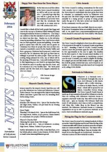 Newsletter Feb16