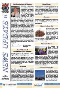 Newsletter Apr16